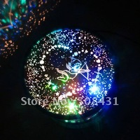 1pcs/lot Wholesale Freeshipping Amazing Led Star Projector,Star Beauty, Night Lighting Light,Date Projector Lover Star Master