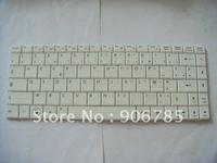 The new white  keyboard V103522AK1 for MSI X320 X300 X340 X400  CR420  CR460  FR  version