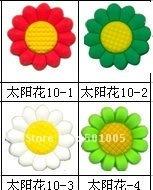 Flower pvc shoe charms/shoe decoration/shoe accessories wholesale and retail