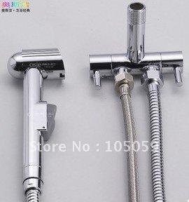 Free shipping! wholesale! HOT SALE!basin Bathroom valve jet hand sprayer,item V01 brass body