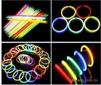 Free freight 100/lot 200*5mm fluorescence sticks glow stick for party