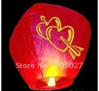 Wholesale Freeshipping Wishing Sky kongming Lantern  festival Lamp heart design and other designs