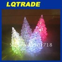 2012 Colorful Crystal Christmas Tree / Christmas gift / Christmas Tree Night Light