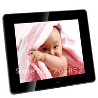 8 inch LCD Digital Picture Photo Frame MP3 MP4 Player 8 language color black and white 8006 HXB0621
