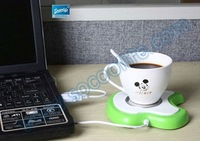 Free shipping wholesale 20pcs/lot USB apple shape coffee cup warmer  winter necessary