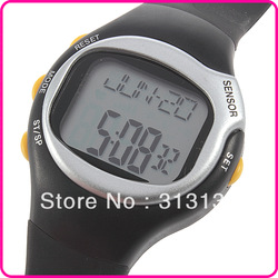 free shipping Calorie Burned Heart Rate Pulse Sport Watch monitor Wrist watch(China (Mainland))