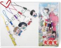 5 * Inuyasha Phone chain,Inuyasha Phone strap ,Inuyasha Group Phone charm in Box-2
