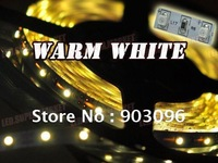 Discounting  ! ! ! 5m 300leds led non-waterproof flexible warm white led strip lighting      Free Shipping