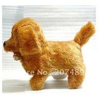 Wholesale retail Lovely Plush Walking Singing Dancing Electronic Dog Toy Gift for Children/Kids Educational Intelligence