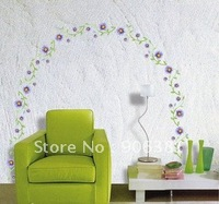 flower Wall paper,wall sticker,wall decal,house sticker Free shipping