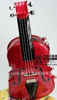 quality goods personality bag cartoon lovely simulation cello inclined ku violin bag/color#2