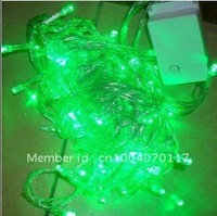 LED String  Lights Green Color Christmas, 100 leds,10M