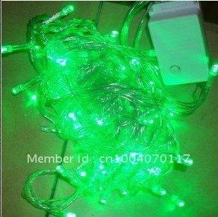 LED String  Lights Green Color Christmas, 100 leds,10M