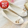 X&#39;MAS SIZE 34-43 ! Lovely Dress Lady flat shoes for Women shoes FREE SHIPPING &amp; Black,Red,White,Green