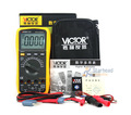 100% Original Victor VC97 3 3/4 Auto Range Digital Multimeter Meter Measure Temperature include Carrying Case, Large LCD