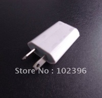 50pcs/lot High Quality Mini Travel Adapter Plug AU USB Wall Home Charger For 4G 3G 3GS Ipad