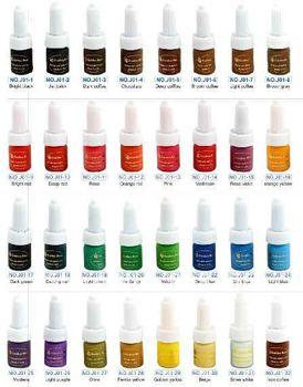 32 Colors Golden Rose Permanent Makeup Ink