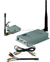 Tiny Lightweight 1.2GHz 100mW micro wireless AV (audio/video) transmitter and receiver