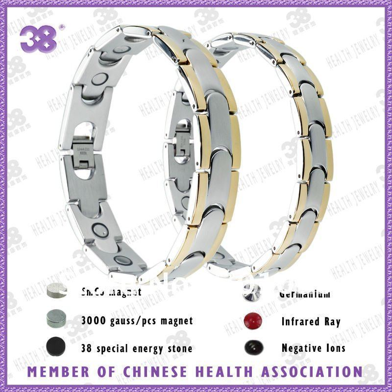 HOT , Free shipping lover magnetic stainless steel bracelet jewelry(China (Mainland))