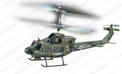 Bell412 R/C 3CH micro helicopter toy new Gyro UDI U806A(China (Mainland))