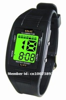 Multi function electronic luminous sport watch 672