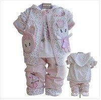 New arrival.Free shipping childdren suit, Children Clothes/  children Wear 3sets/lot,4size
