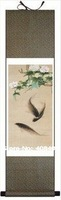 the fashionable 140*45 Chinese Scroll Silk Painting for Home,Hotel,Hall,Bedroom Decoration,Free shipping,New arrivals