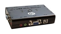 wholesales CKL-52U 2 Ports USB KVM Switch with Audio microphone switch
