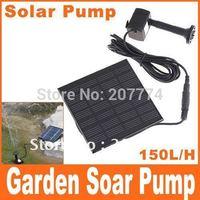 Hot Sell ! Pool Water Pump Garden Plants Watering Kit Solar Power Fountain Soar Pump/Water Pump, Free Shipping+Drop Shipping