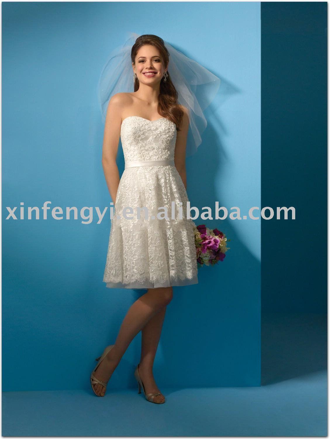 Wedding dress style: Wedding dress short length