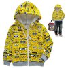 Free shipping boy and girl lovely Spongebob comfortable flannel hood for autumn and winter wholesale and retail