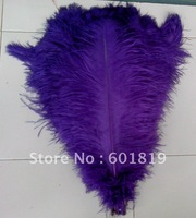 "wholesale 12-14""purple Ostrich Feather Plume FREE SHIPPING usefor party weddind centerpiece decoration"