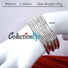 wholesale flexible metal necklace