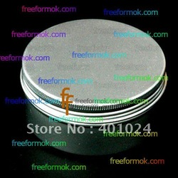 50g 50ml cosmetic containers, Bottle Cosmetic,Cosmetic Packaging,Cosmetic Jars,aluminium cream jar(China (Mainland))