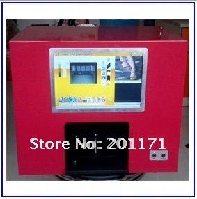 New Nail Art printer,nail printing machine,5 finger nails one time,10 inch touch screen(China (Mainland))