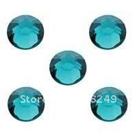 SS20 4.8mm Blue Zircon Crystal Rhinestone 1440pcs Flatback Rhinestones 20ss Non Hotfix Crystal Rhinestones for Nail/phone(China (Mainland))
