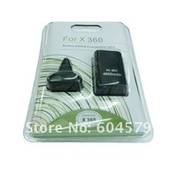 free shipping! Pack For xbox360 xbox 360 4800mAh Rechargeable Battery