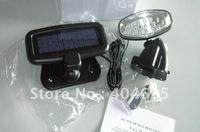 Free shipping 10pcs LED solar infrared sensor light , led solar lamp, solar street light