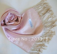 Pashmina Scarf wrap shawl for wowen Cashmere pink winter Spring Scarves10cs/lot