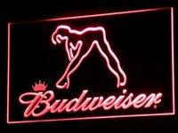 a133-r Budweiser Exotic Dancer Stripper Bar Light Signs