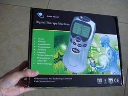 Tens/Acupuncture/Digital Therapy Machine Massager electronic body massager health care equipment(China (Mainland))