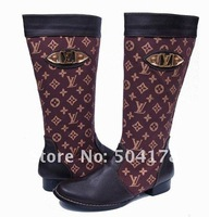 Free Shopping Ladies' boots Women Shoes Brand Boots Top Quality Fashion boots Size36-41 Flat boots leather boots snow boots