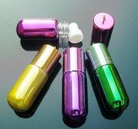 Perfume necklace vial, Fragrance Vial Pendants (Assorted colors)