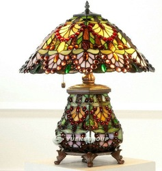 Tiffany Hotal Lamp,TD024,Free Shipping(China (Mainland))