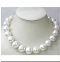 china beijing Beautiful 8mm South Sea White Shell Pearl Necklace free shopping