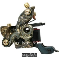 NEW Damascus Classic Gun Tattoo Machine New Liner 10 Wrap LW-DM1130