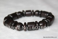 Free shipping,12mm black wooden prayer beads,rosary beads,wooden bangle,carve bracelet,muslin prayer beads,sanders smell