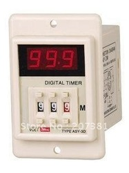 AC 220V Power ON Delay Timer Time Relay 1-999 Minute(China (Mainland))
