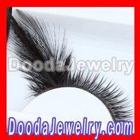 10pcs/lot,Free Shipping Fashion Black Feather Party False Eyelash Wholesale FE2011