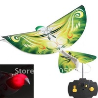 Novel Remote Control   Amazing Flapping-Wing Aircraft R/C Flying Robot E-Bird RC Toy Great for Christmas gift